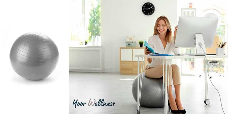 Yoga Ball Chair Ergonomic Health Benefits